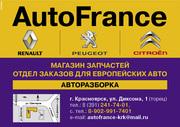 Фильтры на французские автомобили